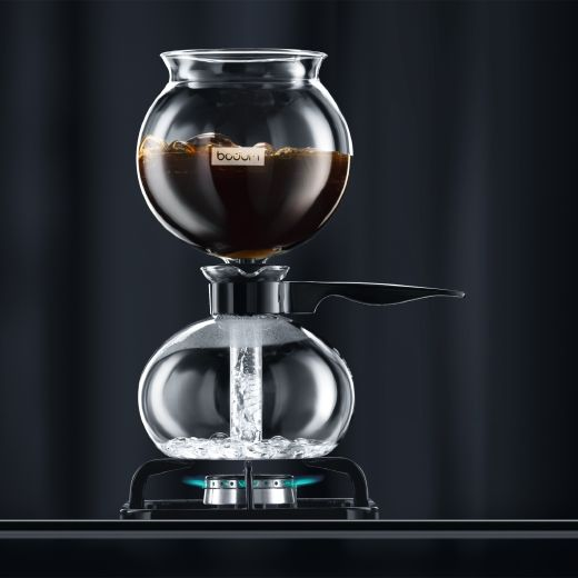 Vacuum Coffee Maker Single Cup : PEBO Vacuum coffee maker by bodum design Pinterest