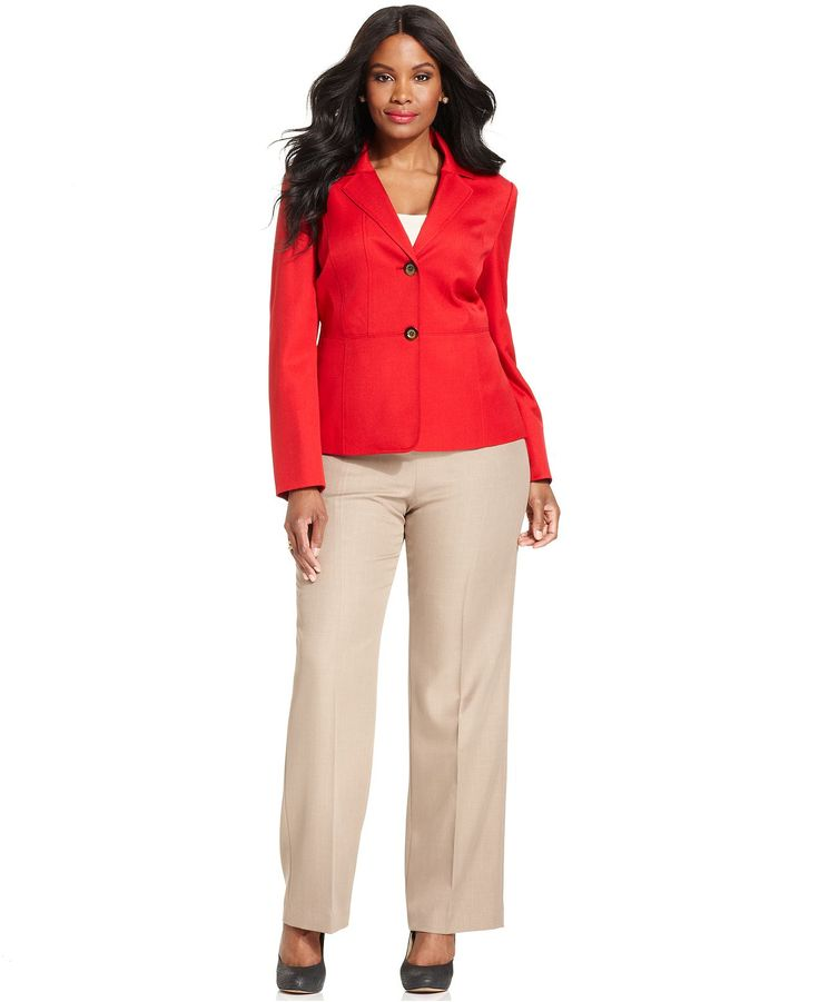 Great Business Suits for Women | Pant Suits for Plus Size Women (1