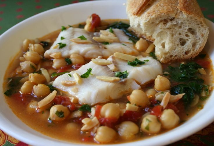 Spanish cod soup main dish pinterest for Fish soup cod