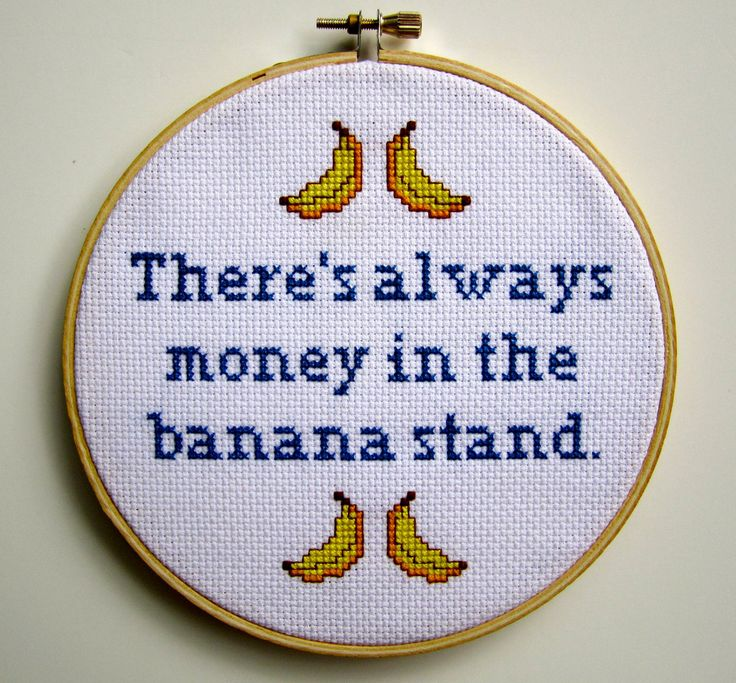 always money in the banana stand...
