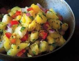 Grilled Pineapple & Macadamia Nut Salsa | Food and drink | Pinterest