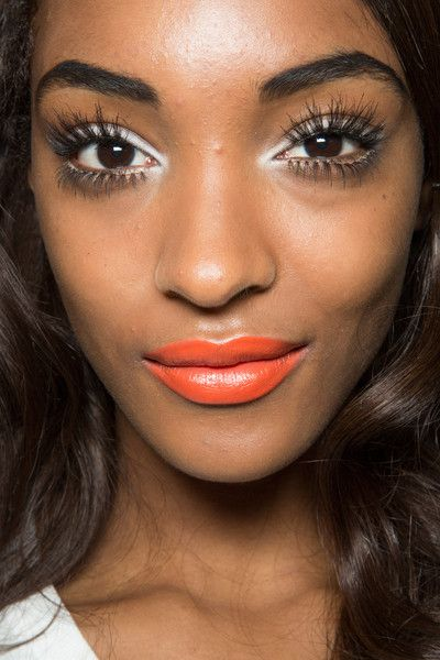 Things to try - Orange lipstick