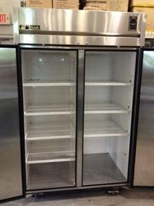 USED 2 Door Top Mount Reach-In Refrigerator / Cooler #usedrestaurantequipment #DFWRefrigerator #storecooler @$1,950