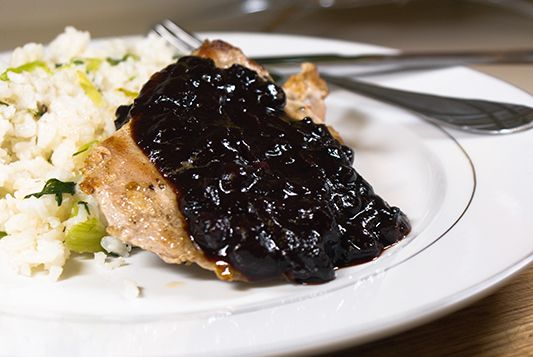 ... Bourbon BBQ Sauce. Our blueberries and team up with a bourbon maker