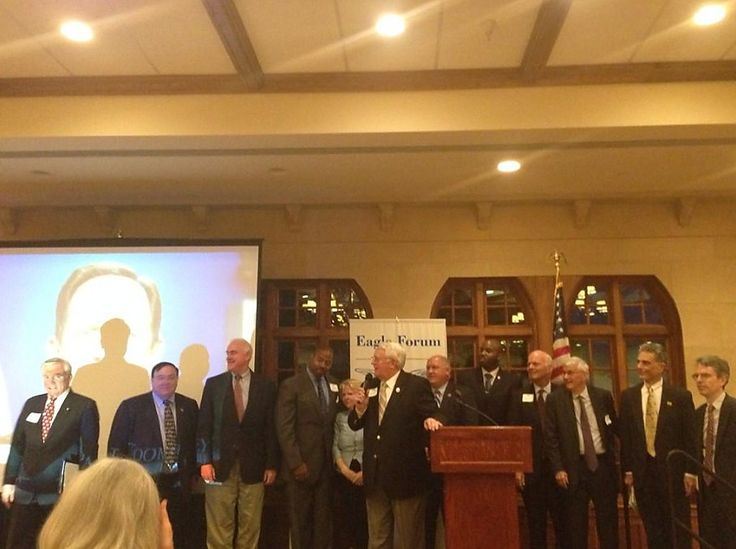 Great night at @EagleForum with Lt. Col. Alan West and some great PA conservatives! 8-21-14