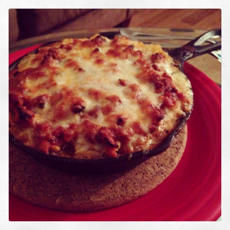 Spaghetti squash lasagna | f00d/DrinK | Pinterest