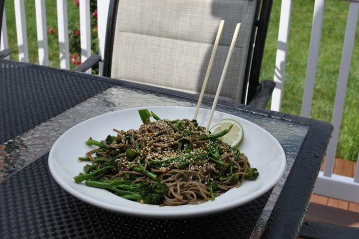 Rapini Noodle Bowl | Quick Dinners | Pinterest