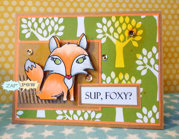 What DOES the fox say? We aren't really sure....so...Sup?