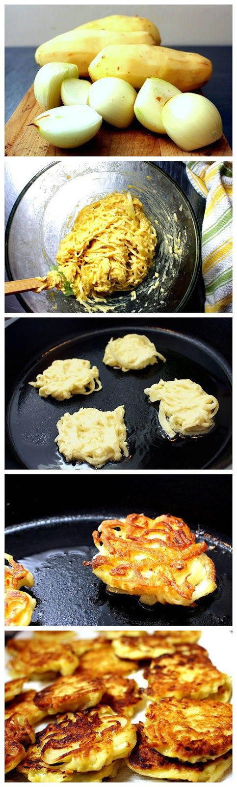 potato pancakes, even better | Potato Obsession | Pinterest