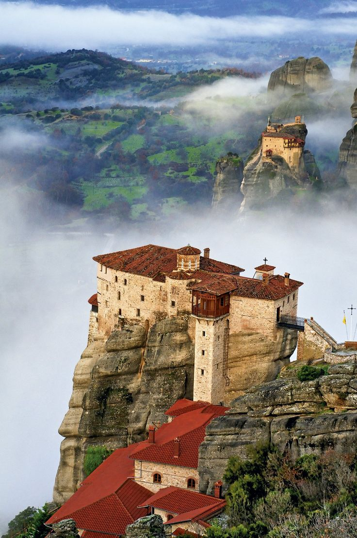 Roussanou Monastery - Meteora, Greece  Just because ...