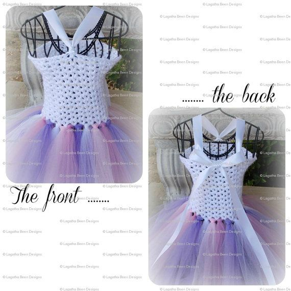 Crochet and tulle tutu dress II pattern - PDF37 digital ...