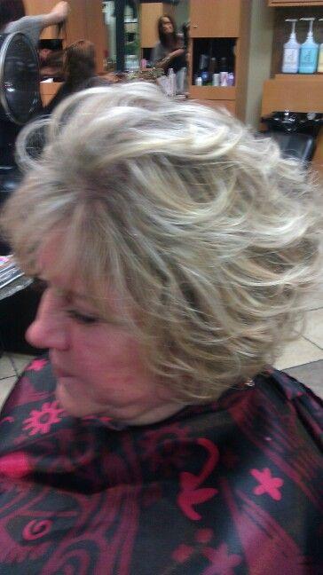 phoebe halliwell hairstyles : Paula Deen hairstyle Short curly hair Pinterest