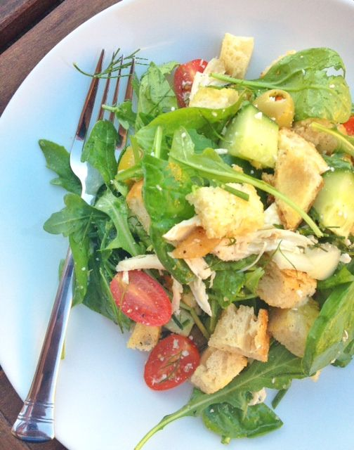 panzanella salad grilled cheese curd panzanella end of summer