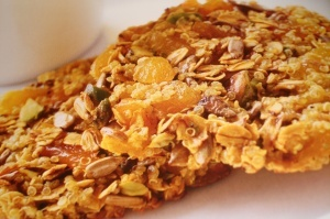 Quinoa, Apricot, and Nut Clusters | Sweets | Pinterest