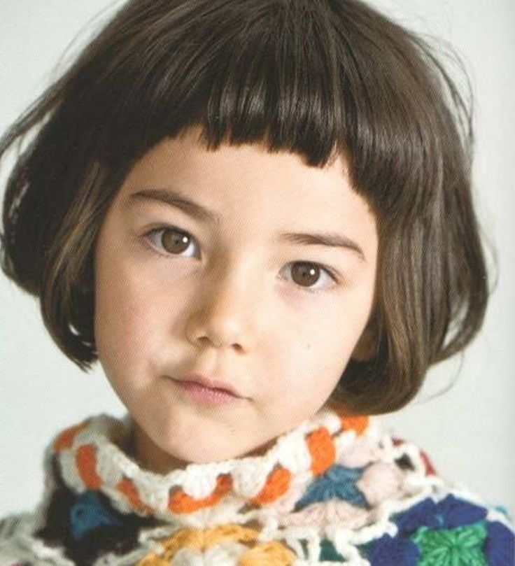 Short Bob Little Girl Haircuts Ivy