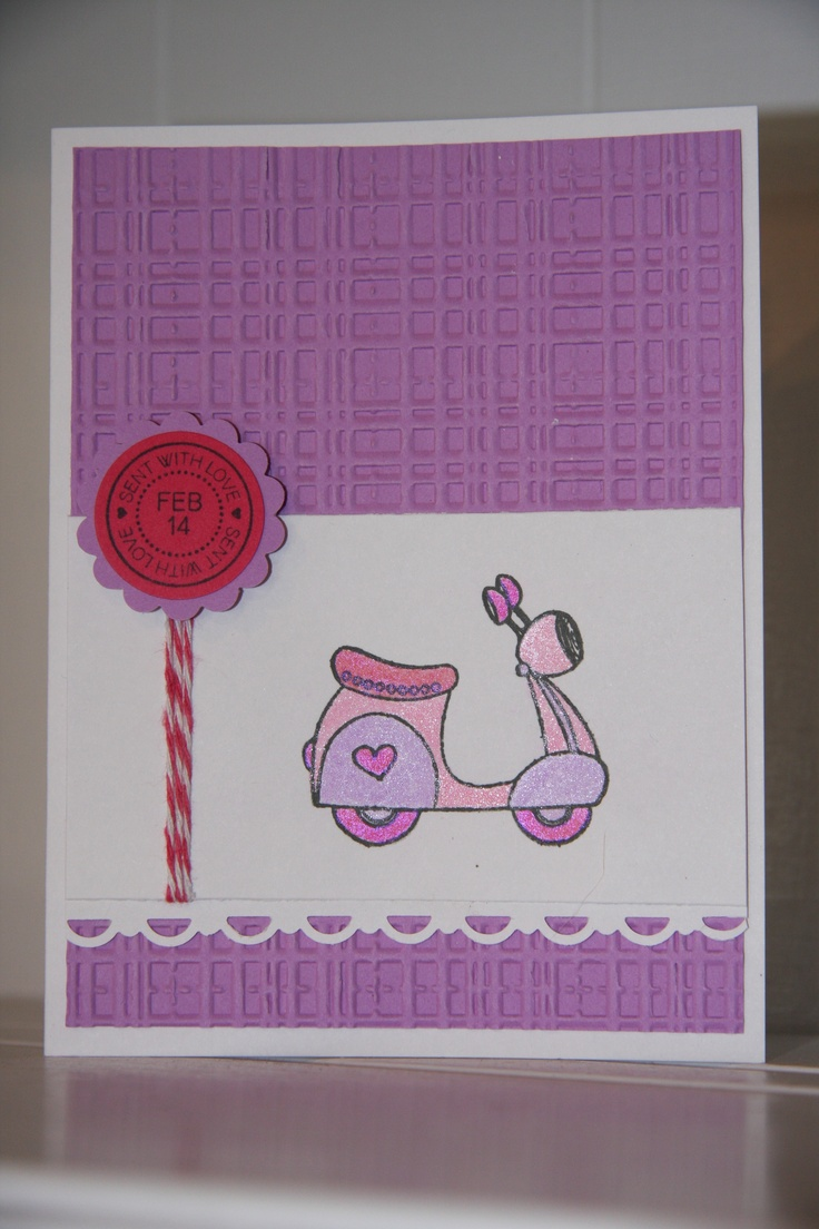 Valentine's Day card | My Cards | Pinterest