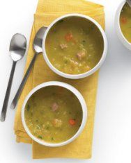 Vegetarian yellow split pea soup from Martha Stewart. Great soup ...