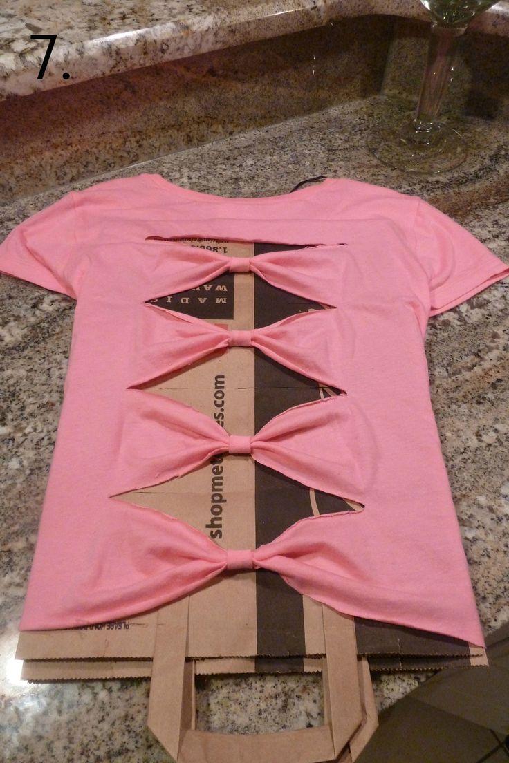 Как сделать из старых футболок красивые новые футболки