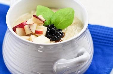 Cream of Cauliflower with Roasted Garlic & Apple — Punchfork