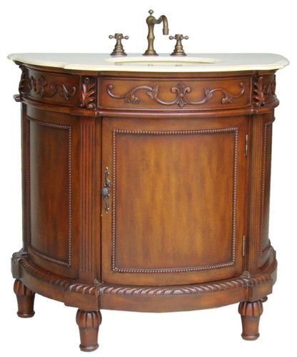 36 Old Fashion Style Tuscany Bathroom Sink Vanity Model Ba 2864m
