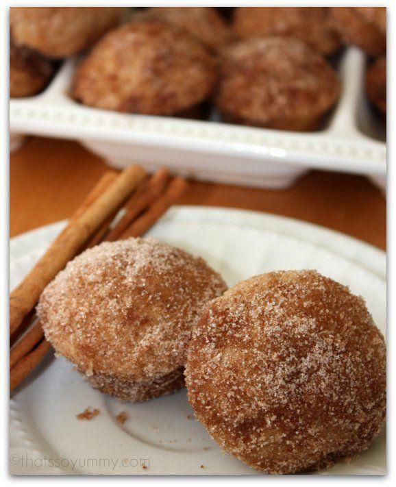 donut muffins | breakfast my fav!! | Pinterest