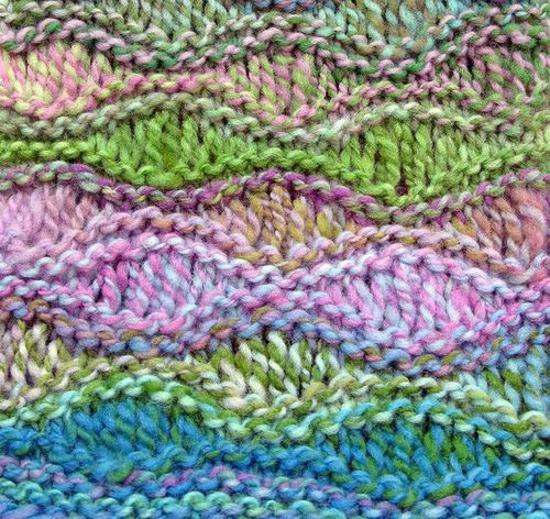 Knitting Patterns With Dropped Stitches : Drop Stitch Scarf Knit & Crochet Pinterest