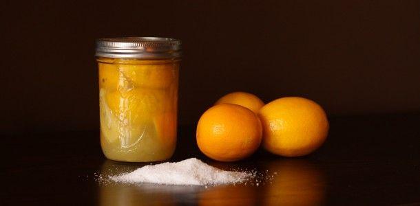 Salt Water Preserved Meyer Lemons