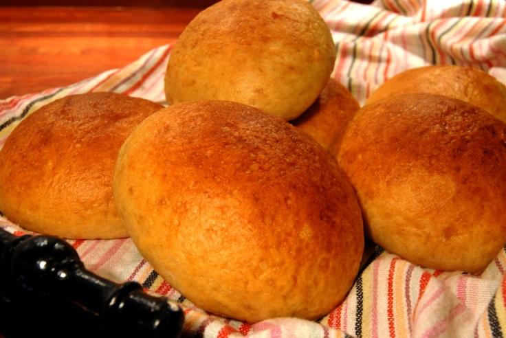 The best (brioche) hamburger buns | Recipe