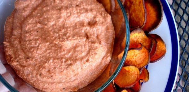 Super Bowl snacks-Roasted Red Pepper Dip Here is a great dip to have ...