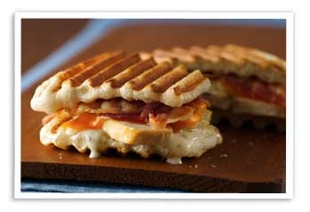 Panini http://www.pillsbury.com/recipes/ranch-chicken-and-bacon-panini ...