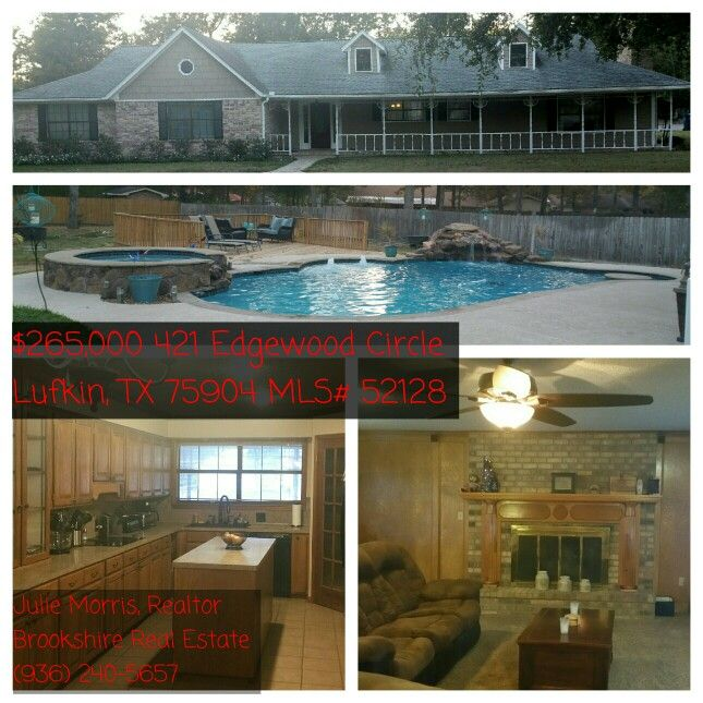 Homes for sale lufkin tx on pinterest real estates for 7 bedroom homes for sale in texas