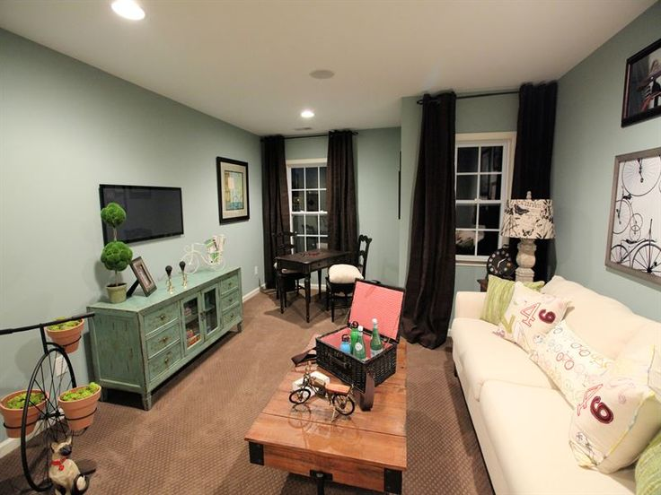 bonus room color idea