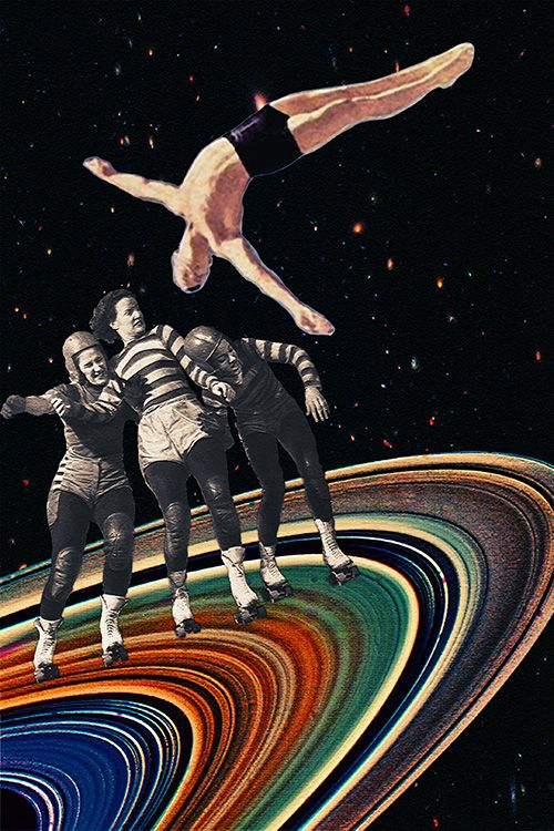 """Unavoidable Collision"" by Eugenia Loli"