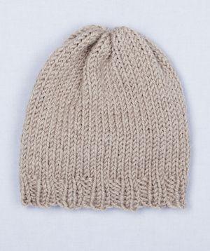 Martha Stewart Knitting Patterns : Free Loom Pattern: Loom Knit Simple Hat crochet Pinterest