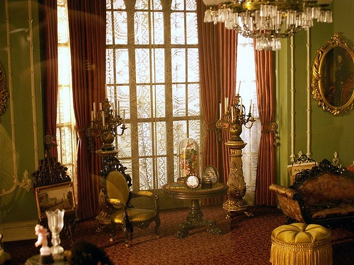 English Victorian Parlor, The Thorne Rooms by davidop175, via Flickr
