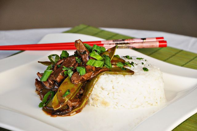 Beef, Shiitake and Snow Pea Stir Fry by Courtney | Cook Like a ...