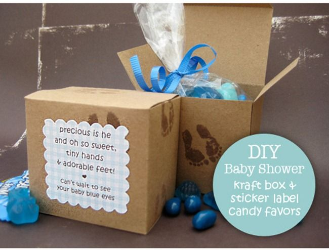 10 diy baby shower favors baby shower pinterest