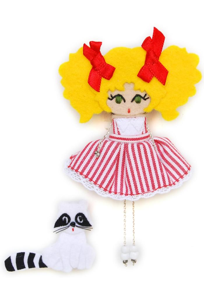 Candy Candy # # Войлочные куклы фибула кукла # # пользовательские куклы минимальных