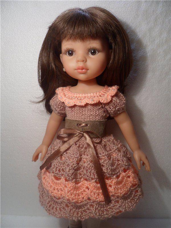 Платья для куклы своими руками схемы