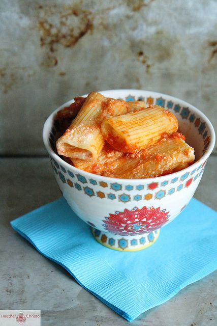 Skillet Baked Stuffed Rigatoni by @Heather Creswell Christo, via www ...