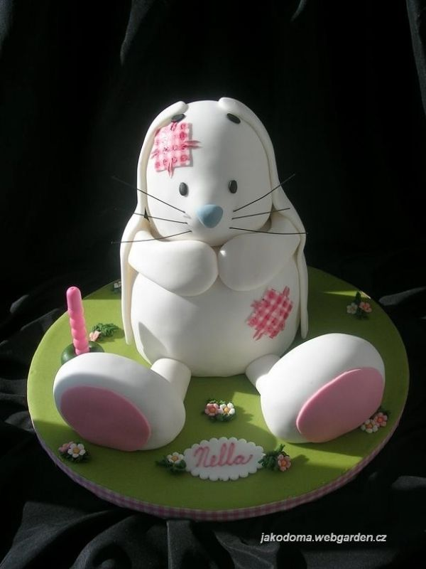 Cute Bunny Cake! Cake Art (Animals/Birds/Insects ...