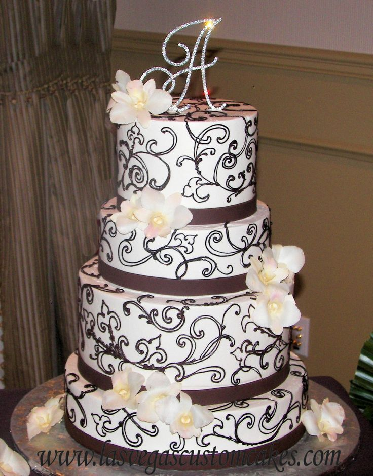 Wedding Cake Design Names : Pin by Cassie on Cake Ideas: Scrolls Pinterest