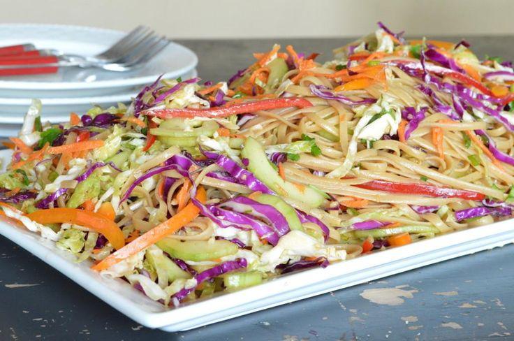 Pasta Recipes : Asian Noodle Salad | veggies | Pinterest