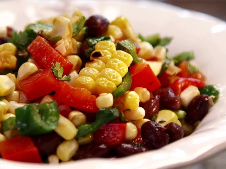 Corn and Black Bean Salad. Here is another fun summer salad ...