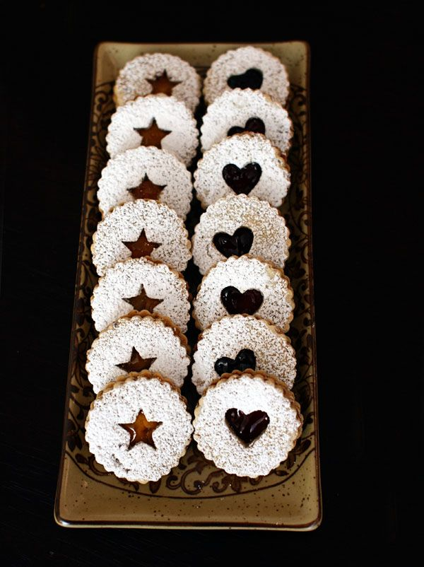 My all-time favourites: Linzer cookies | Recipes | Pinterest