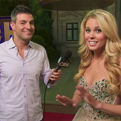 Jeff caught up with Aaryn in the backyard after the #BB15 finale!