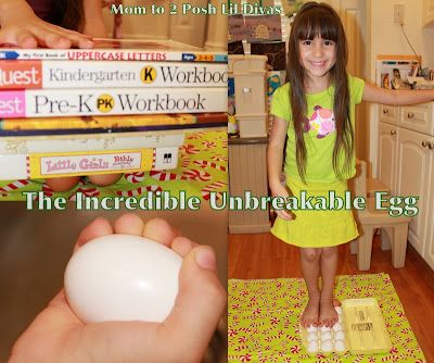 The Incredible Unbreakable Egg Experiments - kids can find out how strong an egg really is in fun hands-on ways!