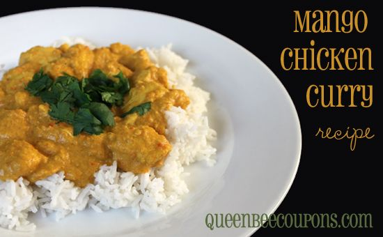 Mango Chicken Curry | Eat, Drink & Be Merry | Pinterest