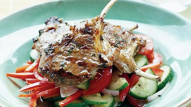 Lemon lamb cutlets with cucumber salad | Food - The Main Event | Pint ...