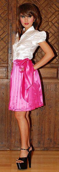Jody Pleated Schoolie Skirt